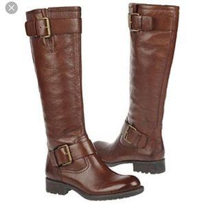 Franco Sarto Pluto Leather Riding Boots